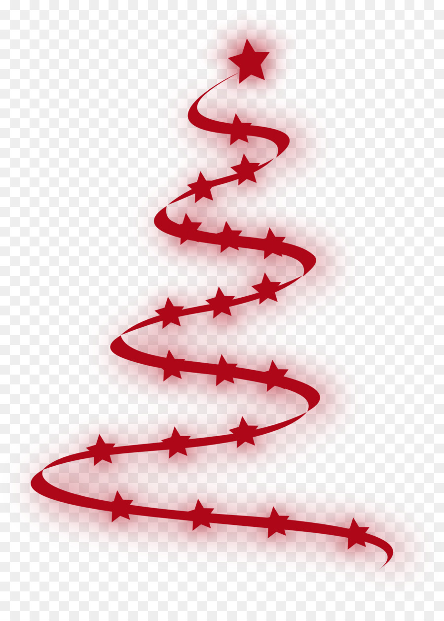 Christmas Tree Red clipart.
