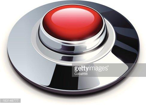 Red Chrome Button premium clipart.