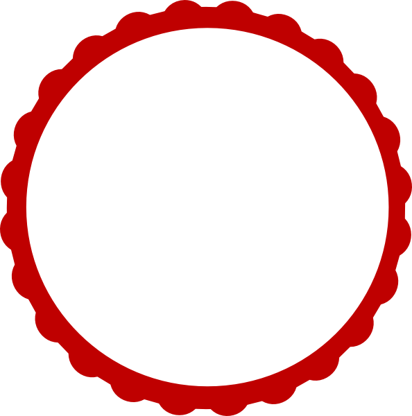 Free Red Scalloped Cliparts, Download Free Clip Art, Free.