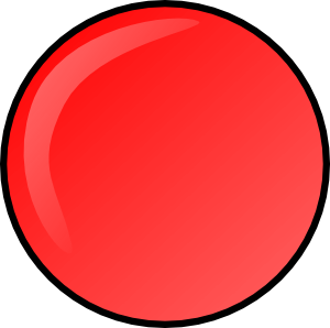 Red Round Button Clip Art at Clker.com.