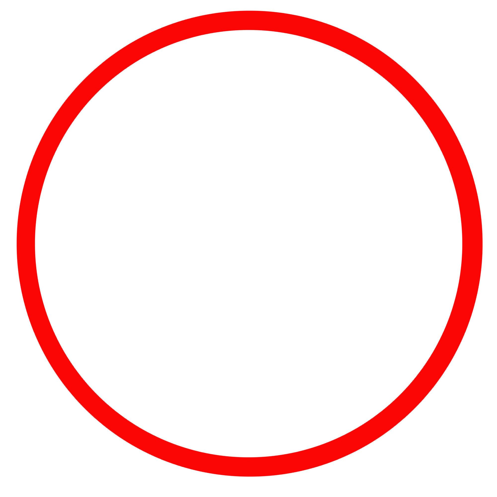 Red Circle Image.