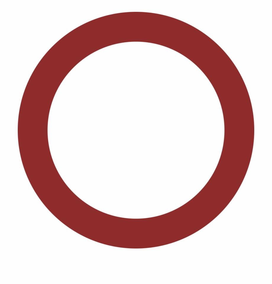 Red Circle Frame Transparent , Png Download.