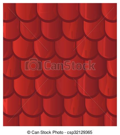 Clip Art Vector of Vector texture illustration of Seamless red.