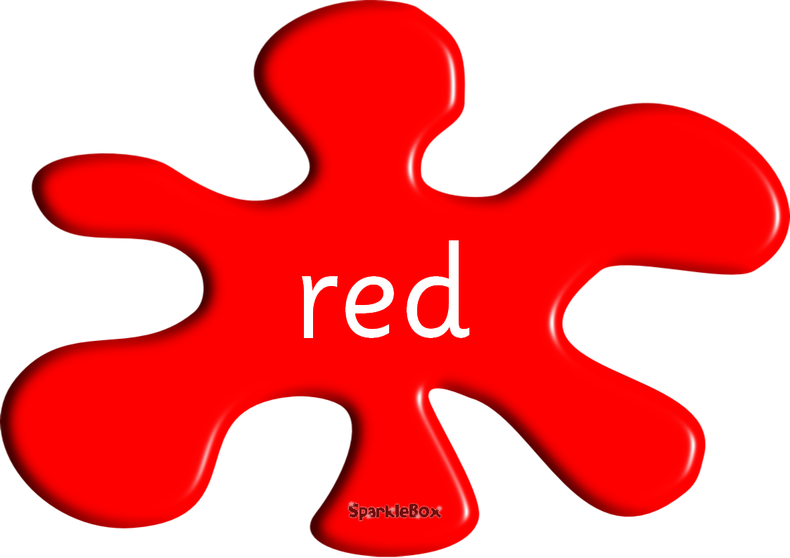 Red colour clipart.