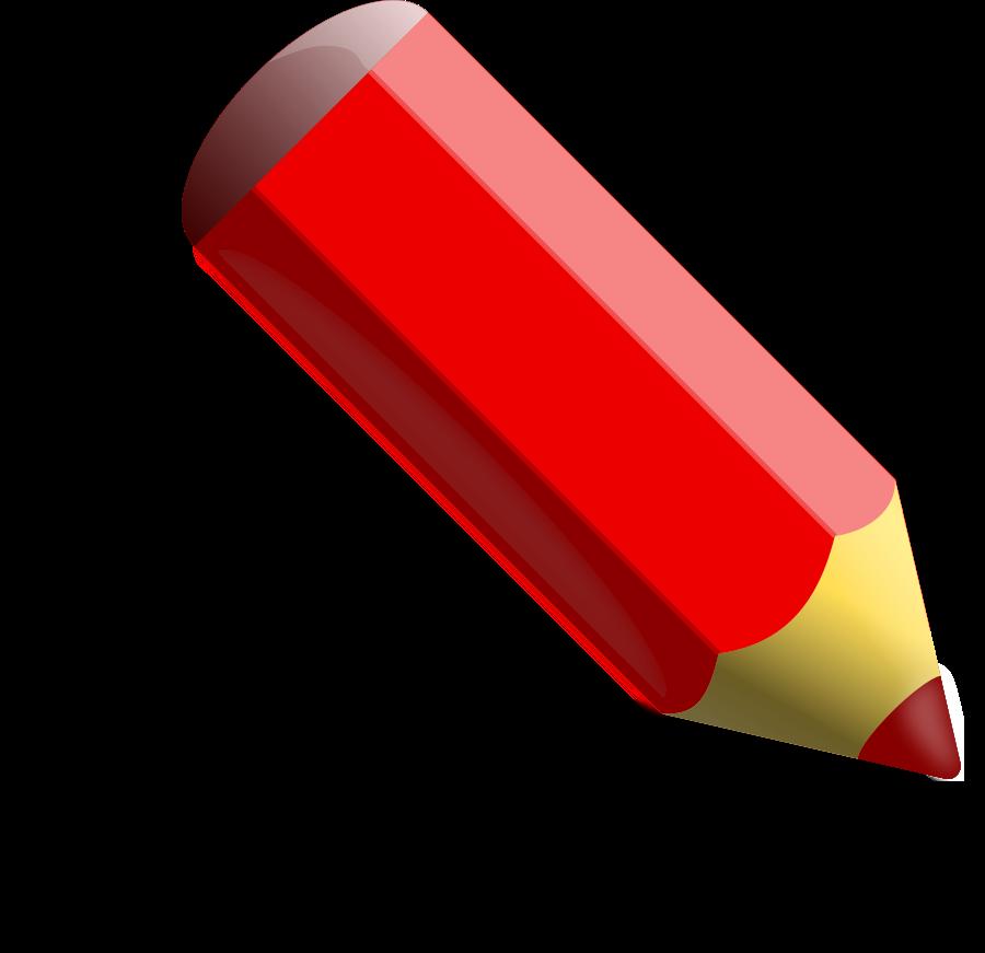 Red Crayon Clip Art.