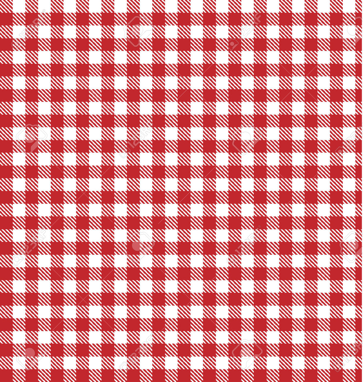 Plaid table cloth clipart.