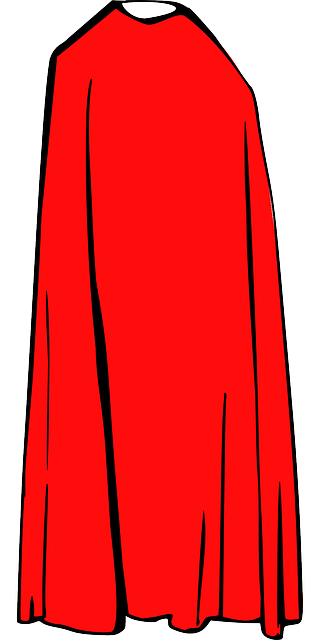 Free vector graphic: Cape Cloak, Cape, Red, Cloth, Cloak.