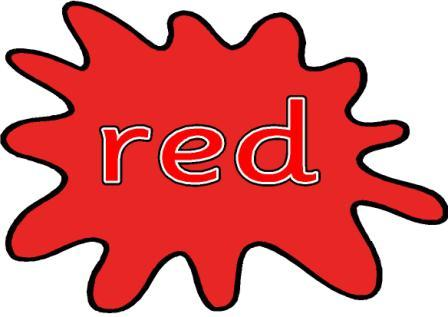 Color red clipart.