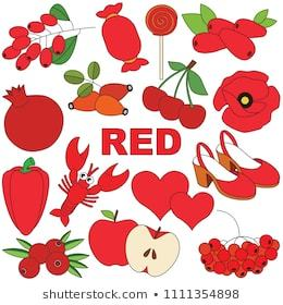 Red colour objects clipart 5 » Clipart Portal.