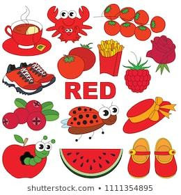 Red colour objects clipart 2 » Clipart Portal.