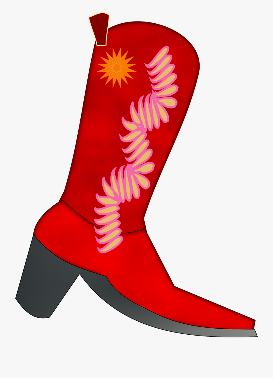 Transparent Cowboy Boot Png.