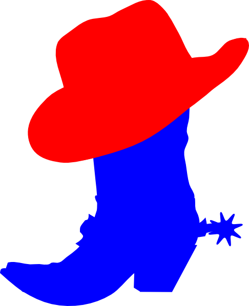 Red Cowboy Hat Clip Art at Clker.com.