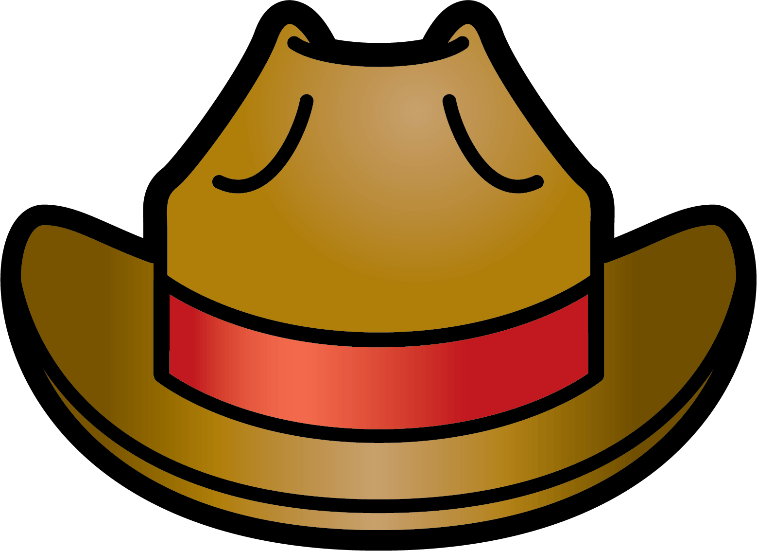 Red Cowboy Hat Clipart (22+).