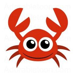 Red crab clipart 2 » Clipart Portal.