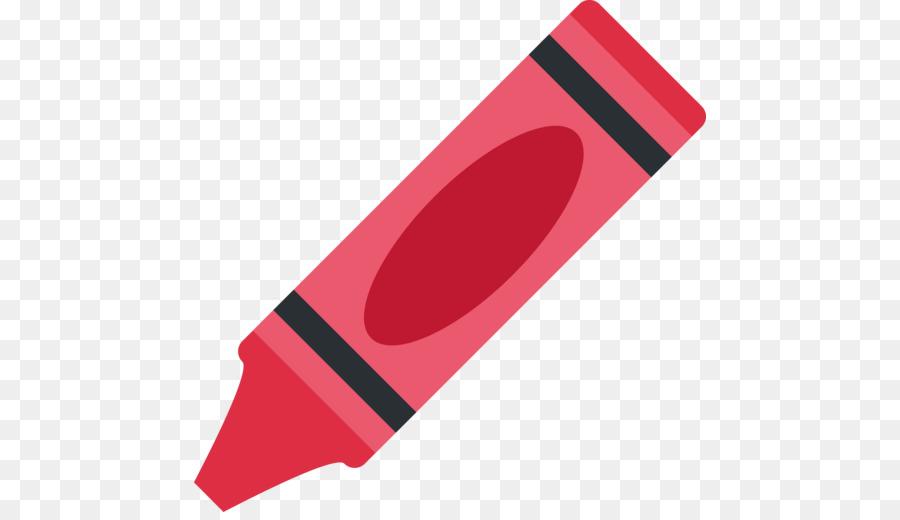 Emoji Crayon Colored Pencil Pastel.