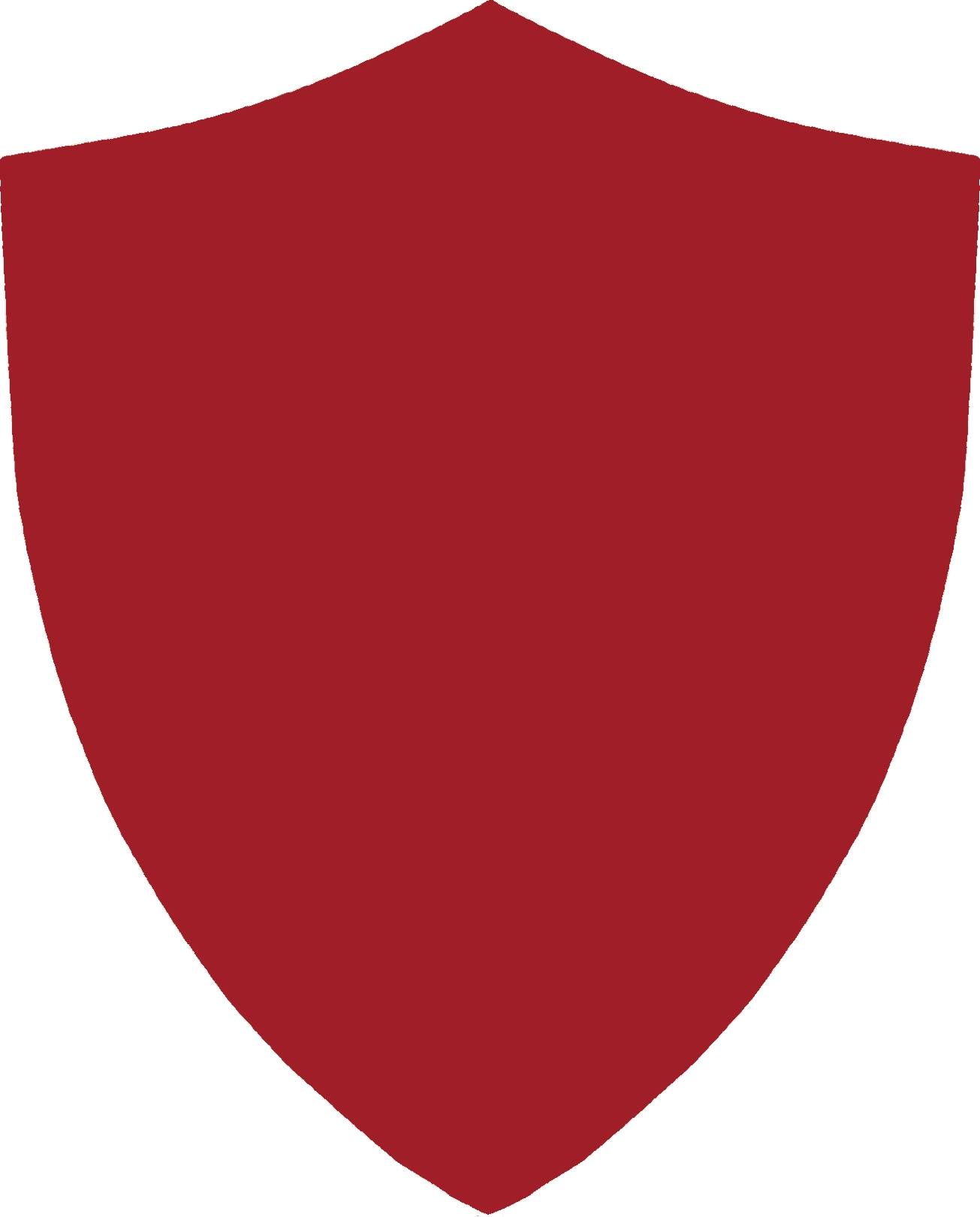 Shield Inset Mirror Red.