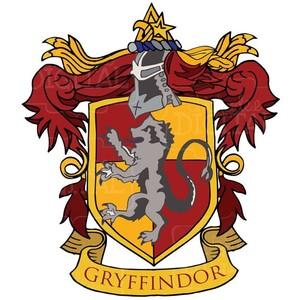 Harry Potter Gryffindor House Crest Clipart, Gryffindor Clip.