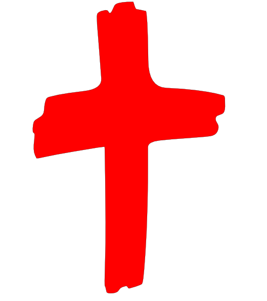 Red cross clipart.