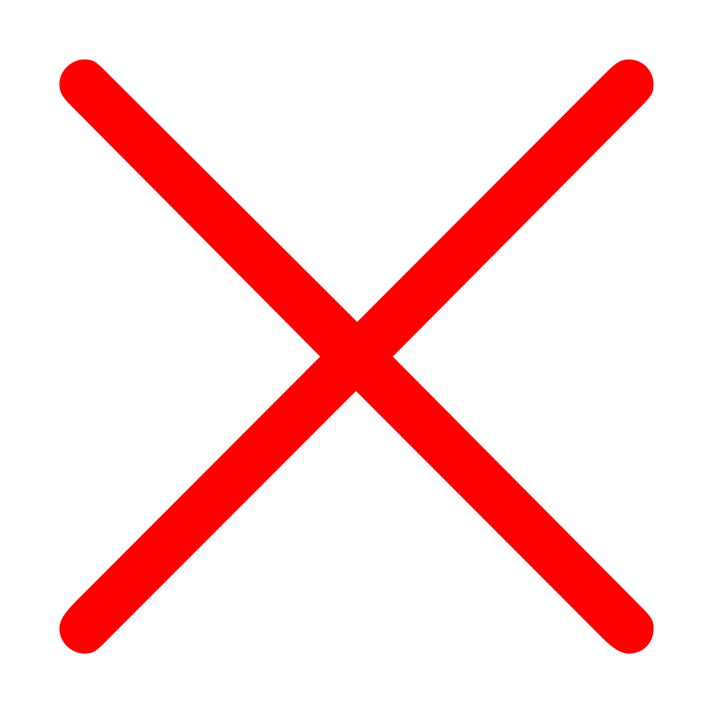 Red Cross Mark PNG Transparent Red Cross Mark.PNG Images.