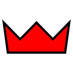 Red Crown clip art.