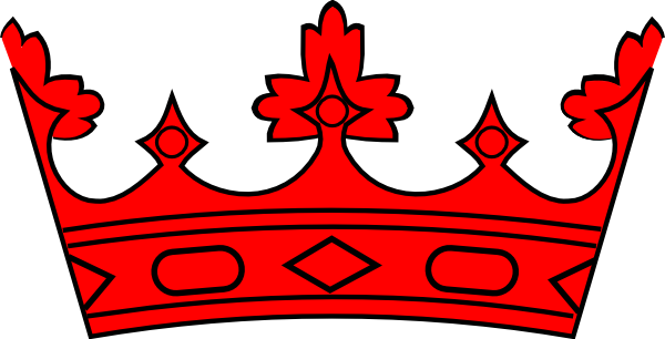 Red Crown Clip Art at Clker.com.