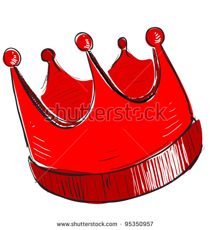 Red Crown Icon Stock Vector 93939571.