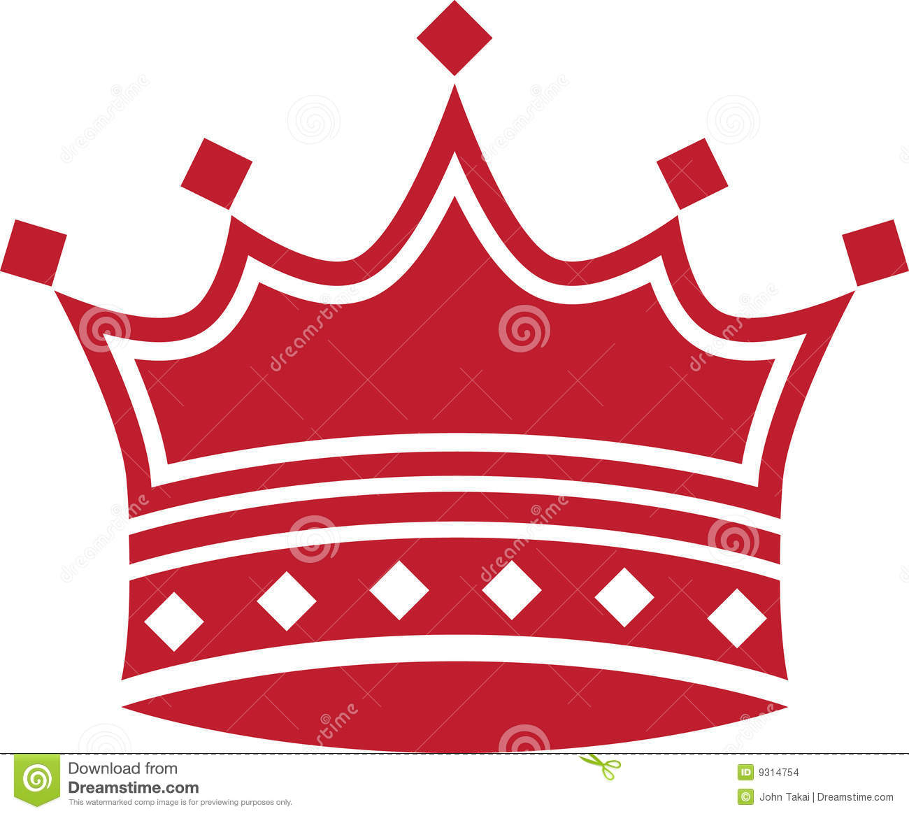 Red Crown Stock Images.