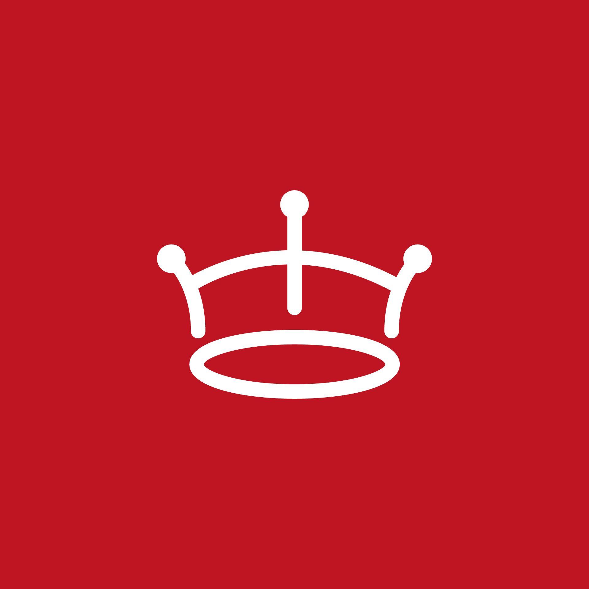 Red crown logo..