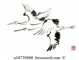 Red crowned crane Illustrations and Clip Art. 8 red crowned crane.