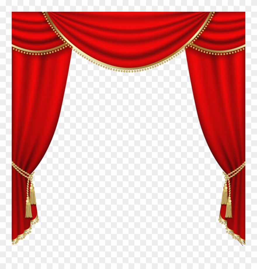 Download Red Curtain Png Clipart Curtain Clip Art Curtain.