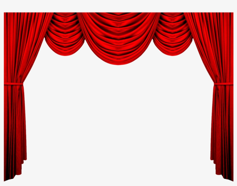 Red Curtains Png.