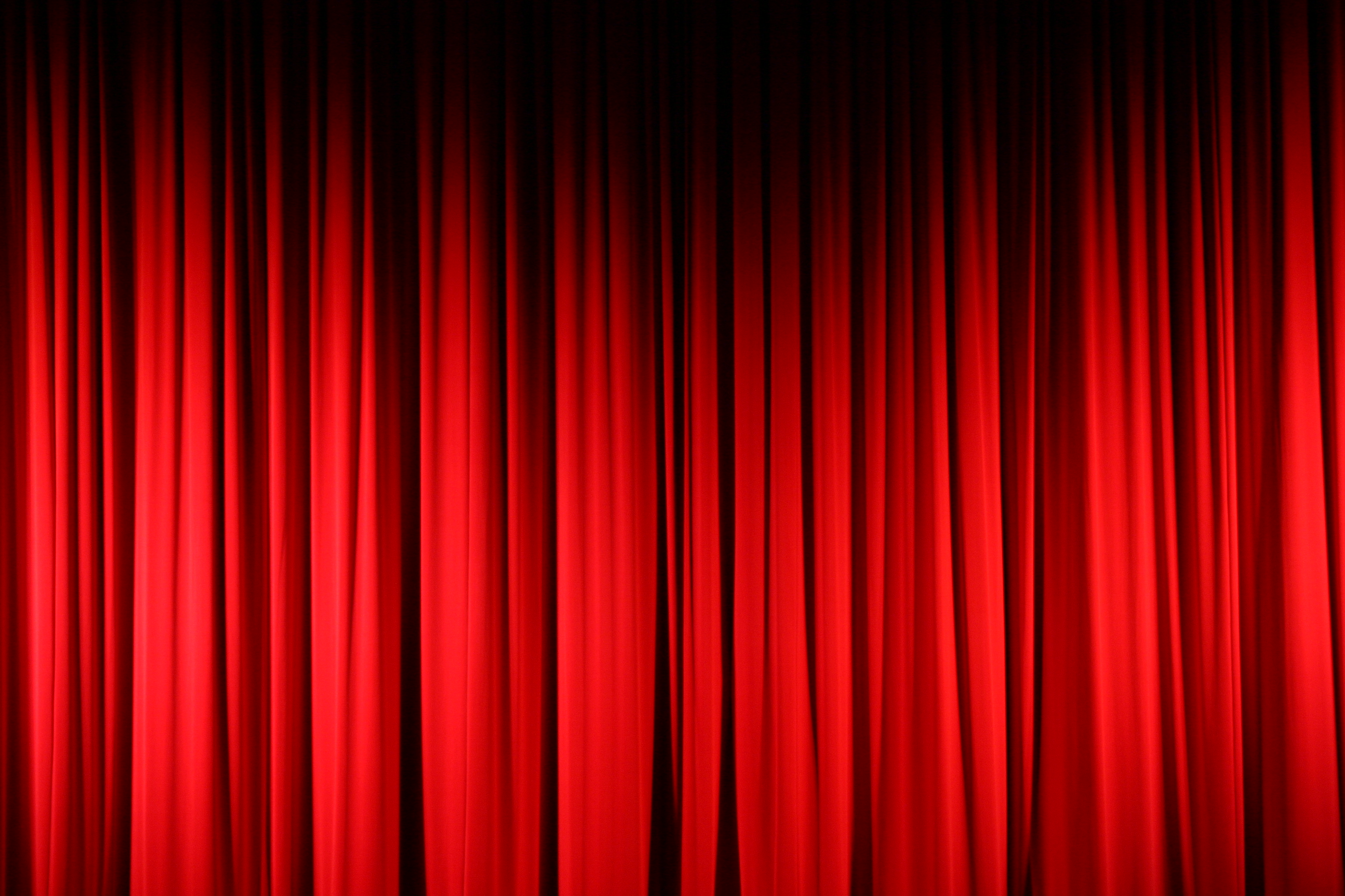 Just Red Curtains Clip Art.