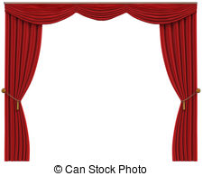 Red curtains Clip Art and Stock Illustrations. 7,317 Red curtains.