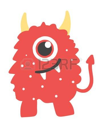 Fantasy Monster Clipart.