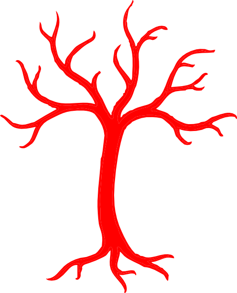 Red Dead Tree Clip Art at Clker.com.