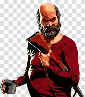 Red Dead Redemption 2 transparent background PNG cliparts.