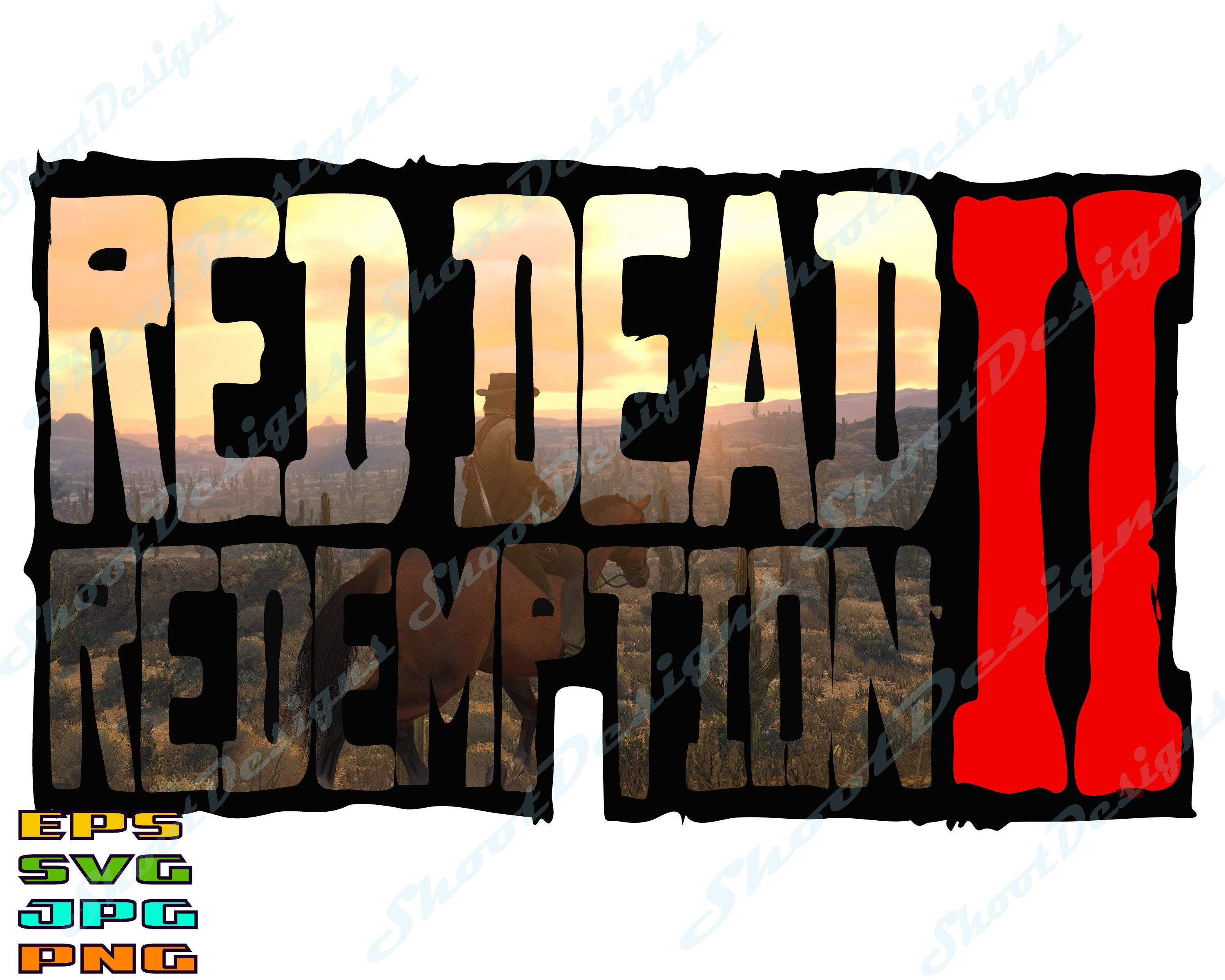 Red Dead Svg, dead redemption 2, red dead redemption, red.