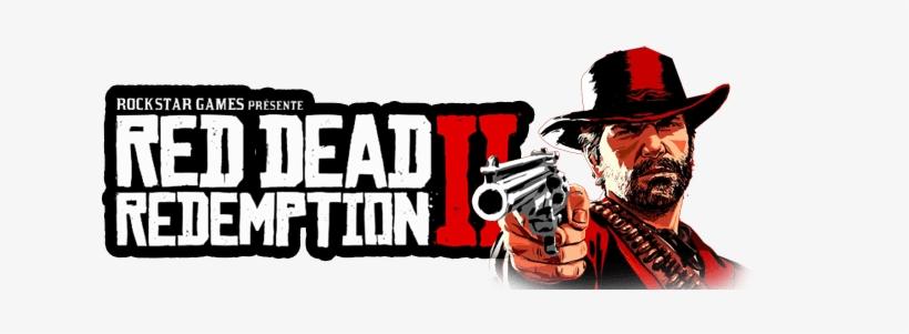 Logo Red Dead Redemption Ii Avec Arthur Morgan.