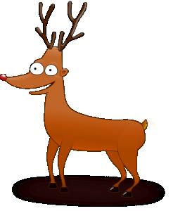 Red Deer Head Clip Art Download.