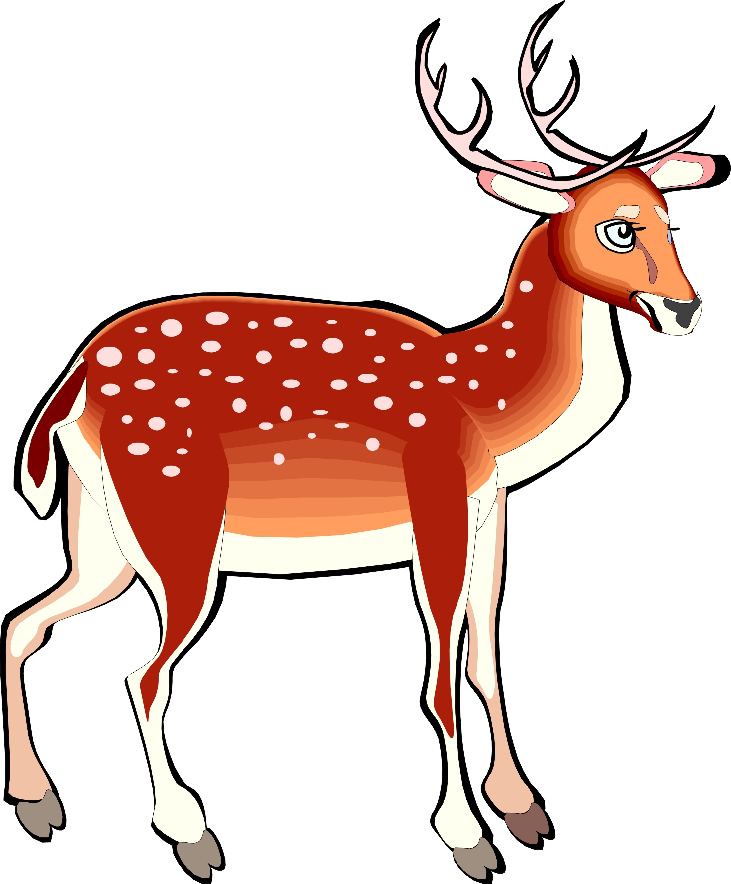 Red Deer Clipart Clipground