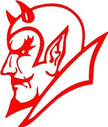 lincoln county red devil logos.