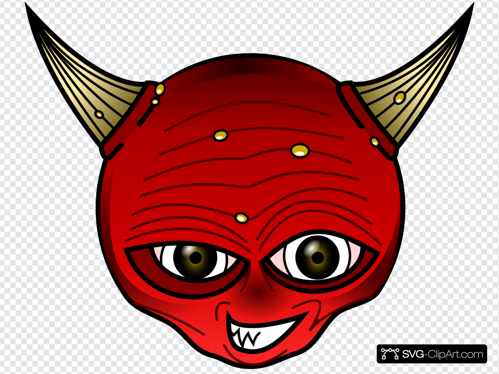 Red Devil Clip art, Icon and SVG.