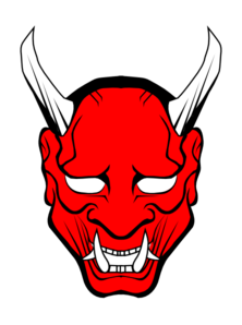 Red Devil Face Clip Art.