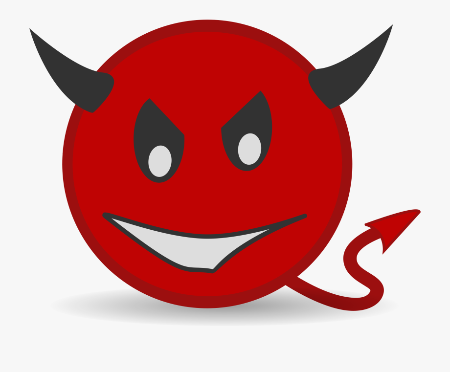 Cartoon Devil Clip Art Book.