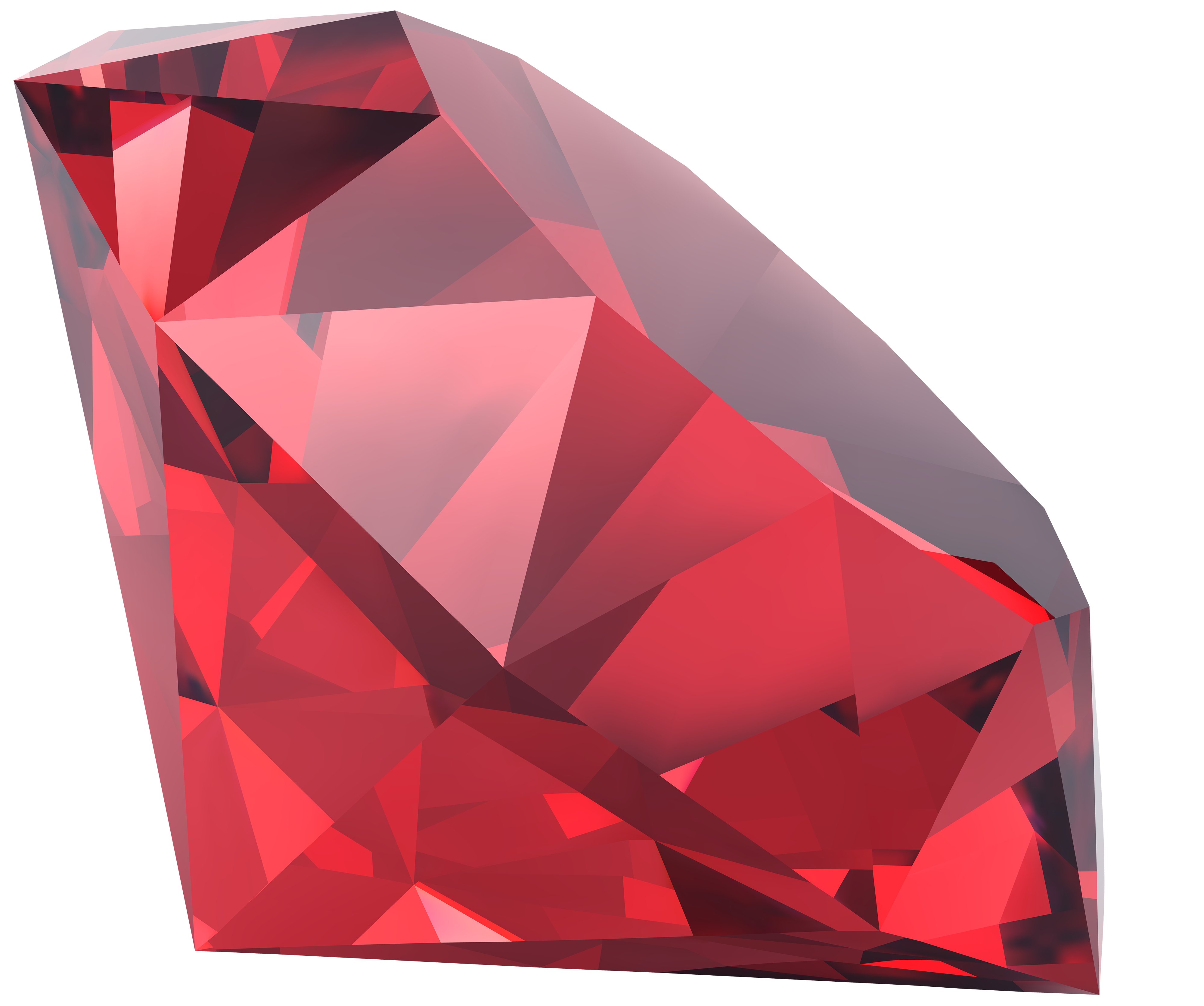 Red Diamond PNG Clipart.