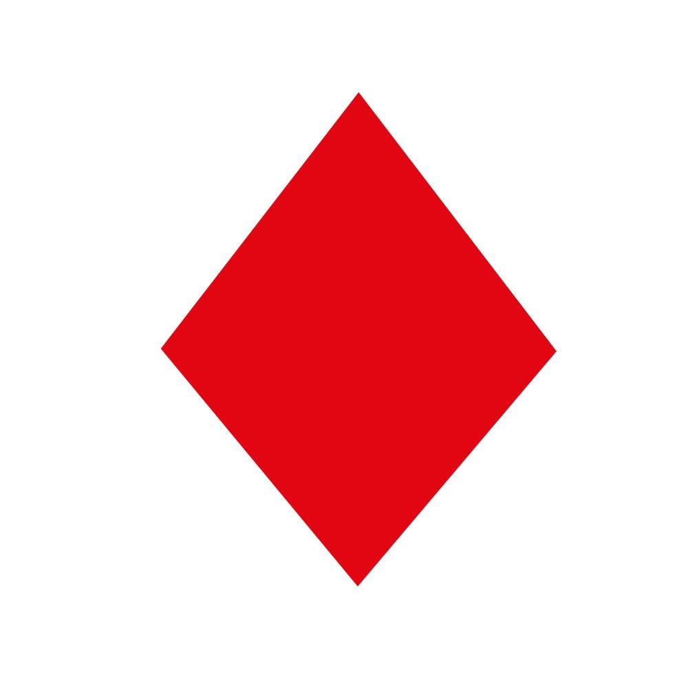 Red diamond Logos.
