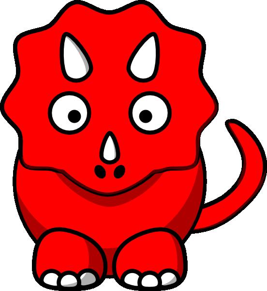 Red Dino Clip Art at Clker.com.
