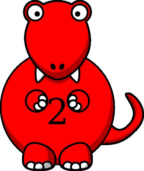 Red dinosaur clipart 1 » Clipart Portal.