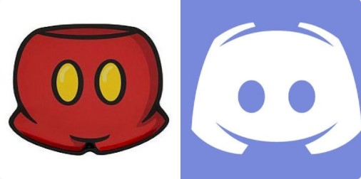 THE DISCORD LOGO IS MICKEY MOUSE\'S HOT PANTS. Okay, cool.