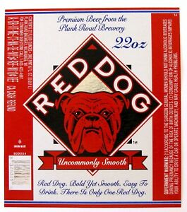 Details about Plank Road Brewery RED DOG.